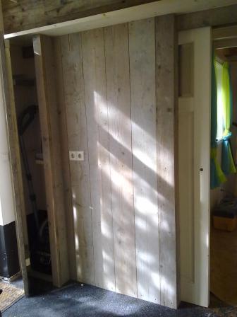 Schuifdeur steigerhout zelf maken